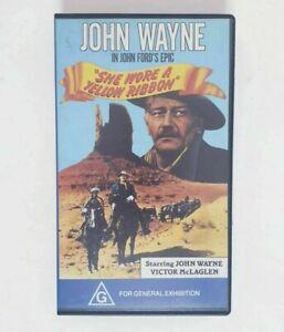 She Wore a Yellow Ribbon VHS Movie - John Wayne John Ford Epic CEL Home Video