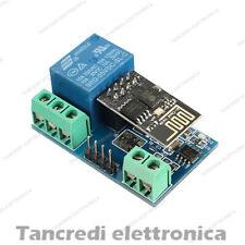 RELE' WIFI MODULO ESP8266 WIRELESS 12V RELAY SWITCH 220V AC (arduino-compatibile