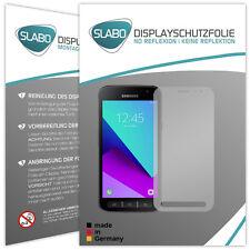 Slabo Displayschutzfolie für Samsung Galaxy Xcover 4 (4er Set) MATT No Reflex