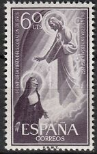 TIMBRE ESPAGNE NEUF N° 898 **  SAINTE MARGARITA MARIA D ALACOQUE