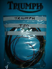 Triumph T20 200cc Tiger Cub 1956 to 1963 Distributor Model Loom Wiring Harness