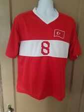 Vintage Turkey National Team Nihat Kahveci Soccer Jersey Mens Size M