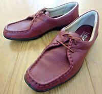 Hotter Comfort Concept VANA Lace up Burgundy Red Shoes Size UK 6 STD EU 39 US 8