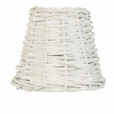 New Rattan Lampshade White Clayre & eef E 27 Shabby Chic Country Style Country