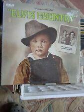 ELVIS PRESLEY-ELVIS COUNTRY-RCA LSP-4460 VG+/VG+ VINYL RECORD ALBUM LP