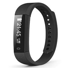 Weesound Fitness Tracker, Smartwatch and Watch Cell Phone Black for iPhone, Andr