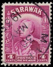 "SARAWAK 114 (SG109) - Sir Charles Vyner Brooke ""1934 Magenta"" (pa60993)"