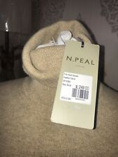 brand New N PEAL Cashmere Roll Neck Jumper Size Small