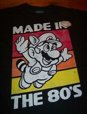 VINTAGE STYLE SUPER MARIO BROS. 3 Made in the 80'S NES Nintendo T-Shirt 3XL NEW