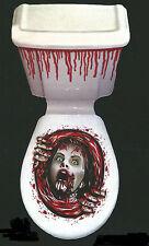 Halloween Horror Toilette Decorazione-Urla faccia