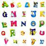 DIY A-Z Alphabet Animals Removable Wall Sticker Decals Kids Nursery Home Decor