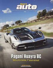 SPORT AUTO n°650 03/2016 EDITION COLLECTOR LAMBORGHINI HURACAN AUDI R8 V10
