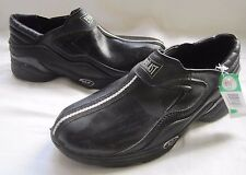 Everlast Black Casual Athletic Slip On Gym Shoes Sneakers Mens 6.5 Faux Leather