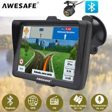 """7""""AWESAFE GPS Navegador Coche GPS portátiles con parasol&cámara de marcha 8G Map"""
