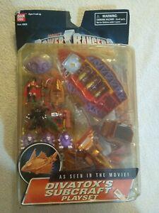 Power Rangers Turbo Divatox's Subcraft Playset Complete Bandai 1997 RARE NEW