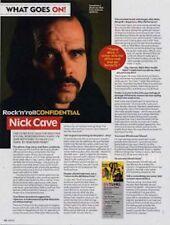 Nick Cave a retrospective Interview