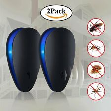 More details for rat rodent mouse spider plug-in ultra sonic pest repeller repellent whole house