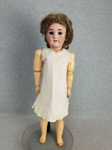 "25"" antique bisque head & composition German Simon Halbig Handwerck Doll ""TLC"""