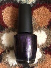 Opi Nail Polish Visions Of Sugarplum Color Discontinued Rare Hl A49