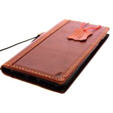 genuine vintage leather Case fit apple iphone 7 plus book wallet cover luxury ID