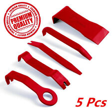 5pc Car Door Dash Board Audio Panel Moulding Trim Install Removal Pry Open Tools