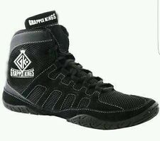 GRAPPLE KINGS MENS WRESTLING SHOES TRAINERS  BOOTS WITH STRAPS AND LACES SIZE 10