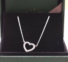 Authentic Loving Hearts of PANDORA Necklace, Clear CZ #590534CZ-45