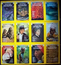 1975 National Geographic Magazine Complete Year + All Map Inserts