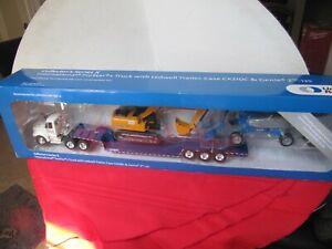 United Rentals Collectors Series X Truck Ledwell Trailer Case Cx210c Genie Z-135