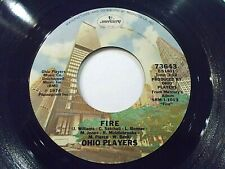 Ohio Players Fire / Together 45 1974 Mercury Funk Vinyl Record