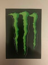 Set of 2 Monster Energy Claw stickers 4'' Athlete issue