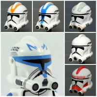 Custom Phase 2 CLONE TROOPER HELMET for Clone Minifigures -Pick the Style!-