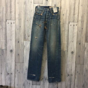 KAPITAL KOUNTRY American Casual Denim Damage Processing W28 inch Women's