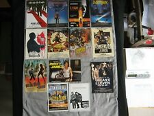 Lot de cartes postales cinéma Hitchcok, Indiana Jones, Star Wars, Razorback...