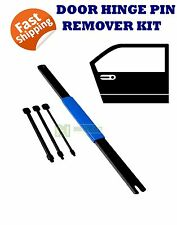 4pc DOOR HINGE PIN REMOVER EXTRACTOR TOOL COMMODORE AUTOMOTIVE PANEL BEATER