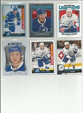 BRAYDEN POINT RC LOT 6 RAINBOW OPC PLATINUM RETRO ROOKIE PORTRAITS UD 2016 17