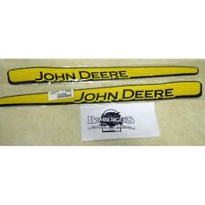 John Deere hood stripe decal set 102 105 115 125 LA100 LA105 LA110 X110 GX21912