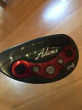 Adams Red 18 Degree Hybrid New In Plastic~Left Hand Stiff