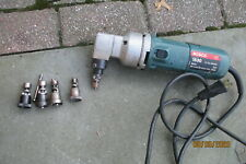New listing Bosch 1530 14 Gauge Nibbler With 4 Extra Die Heads