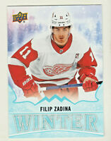 2019-20 Upper Deck Singles Day WINTER #W18 FILIP ZADINA RC Rookie QTY AVAILABLE
