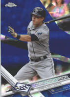 COREY DICKERSON 2017 TOPPS CHROME SAPPHIRE EDITION #165 ONLY 250 MADE