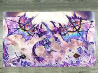 Anime Yugioh Play Mat Yu-Gi-Oh! XYZ Dragon CCG TCG Trading Card Game Mat Playmat
