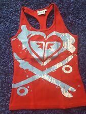Roxy - Shirt - Ringerrücken - rot - Gr. 36 38 - M - wie Neu