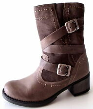 Bequeme-Weite,-Komfortweite-(G) Damenstiefel & -Stiefeletten mit Blockabsatz für Hoher Absatz (5-8 cm) und Freizeit