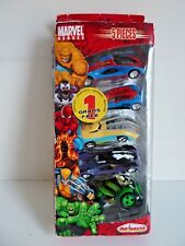 MAJORETTE MARVEL HEROES PACK 5 VEHICULES SPIDERMAN VENOM X MEN HULK 1/64