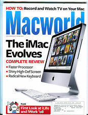 Macworld Magazine October 2007 The iMac Evloves EX 072516jhe