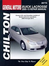 Buick LaCrosse Repair Manual: 2005-2013 #28770