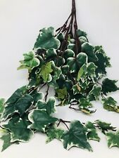 XL Large Ivy Bunch Stem Artificial Foliage Greenery Spray Plant Garden Leaves