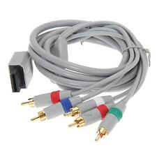 HD 1080P Component Composite HDTV Audio Video AV Cable Cord for Nintendo Wii