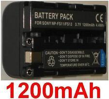 Akku 1200mAh typ NP-FS10 NP-FS11 NP-FS12 Für Sony DCR-PC1E